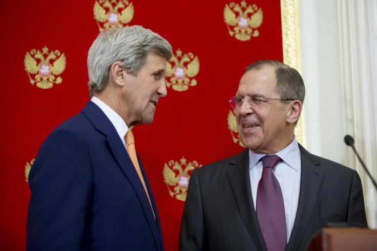 John Kerry & Sergei Lavrov