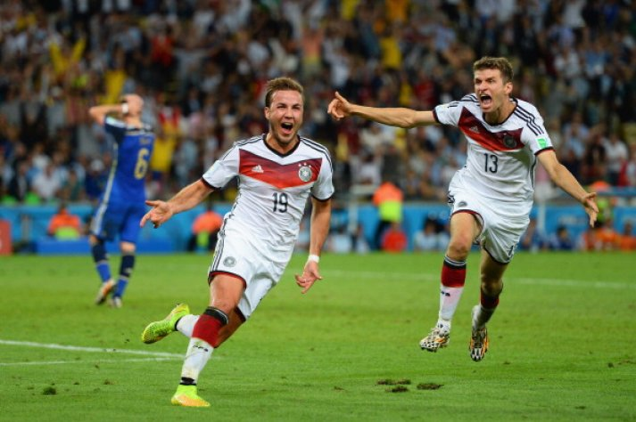 Thomas Muller and Mario Gotze