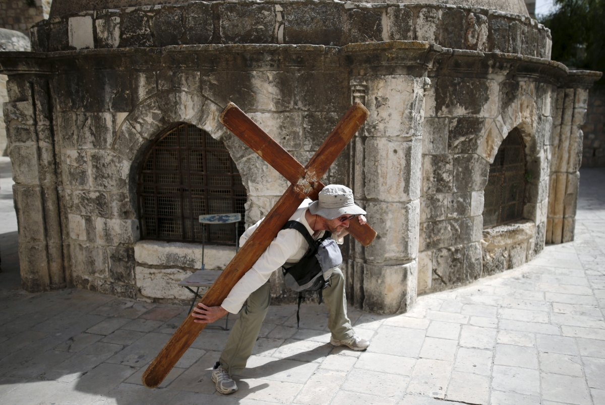 Jerusalem Christian Good Friday 2016