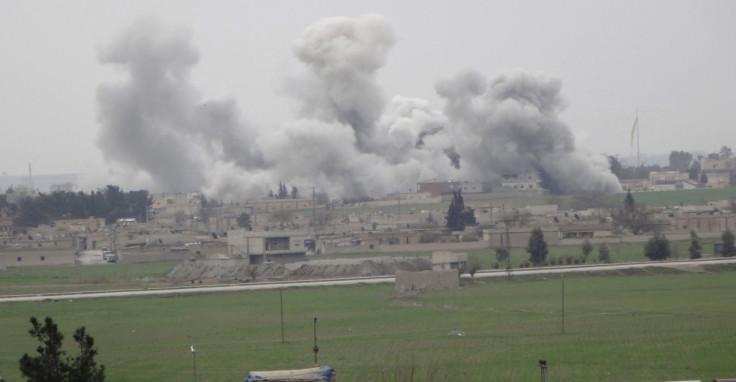 syria coalition air strikes 2016