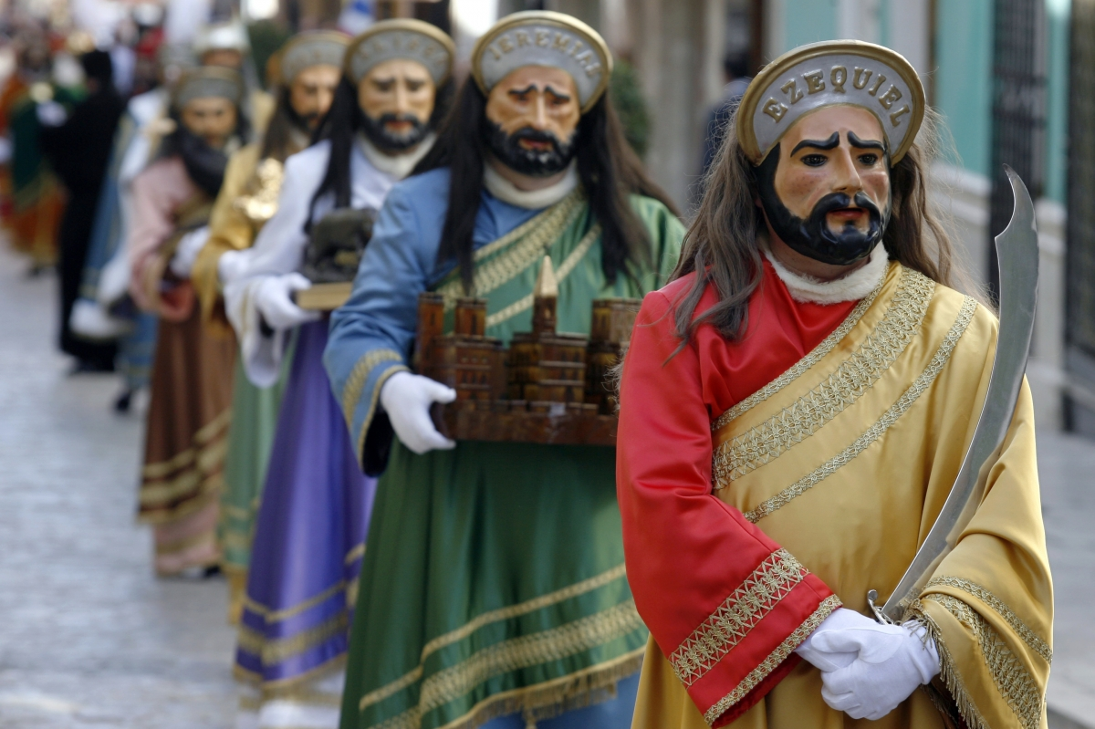 Spanish Easter Parade