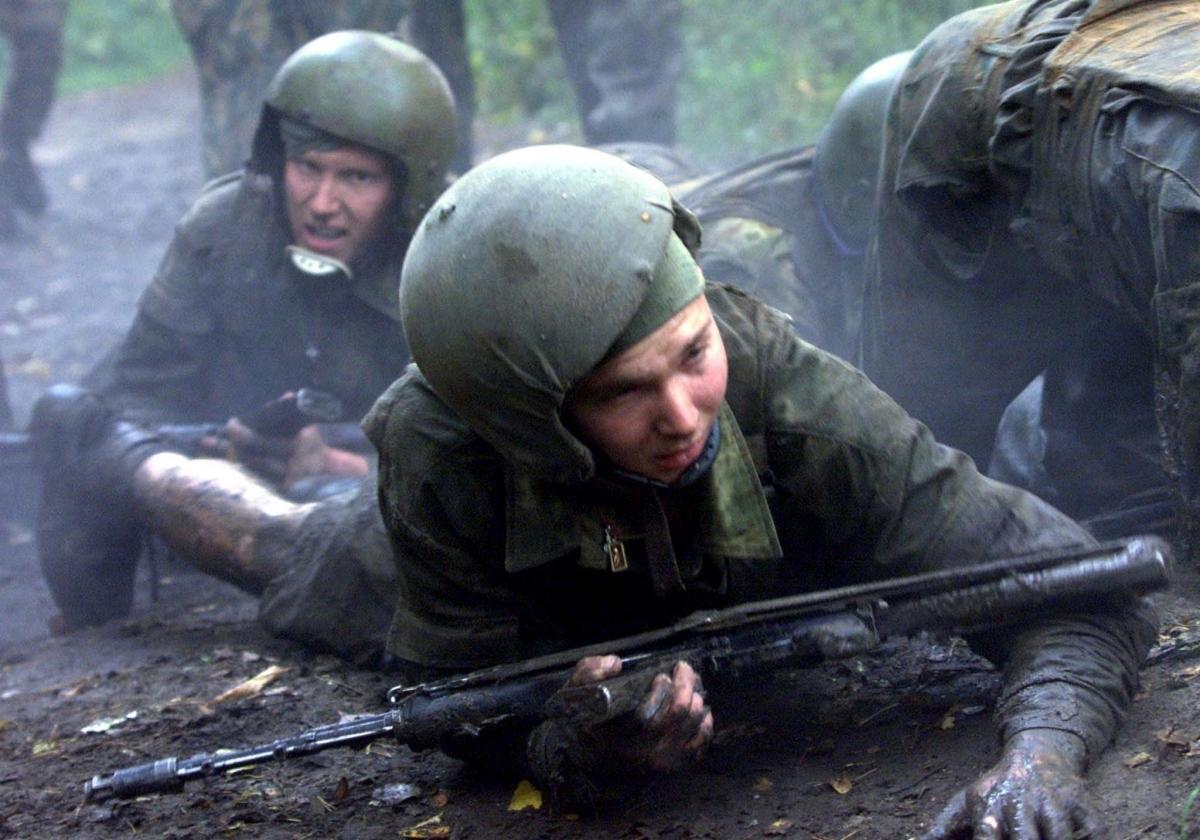 Russian commando