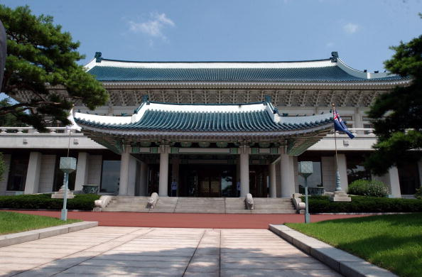 South Korea Blue House