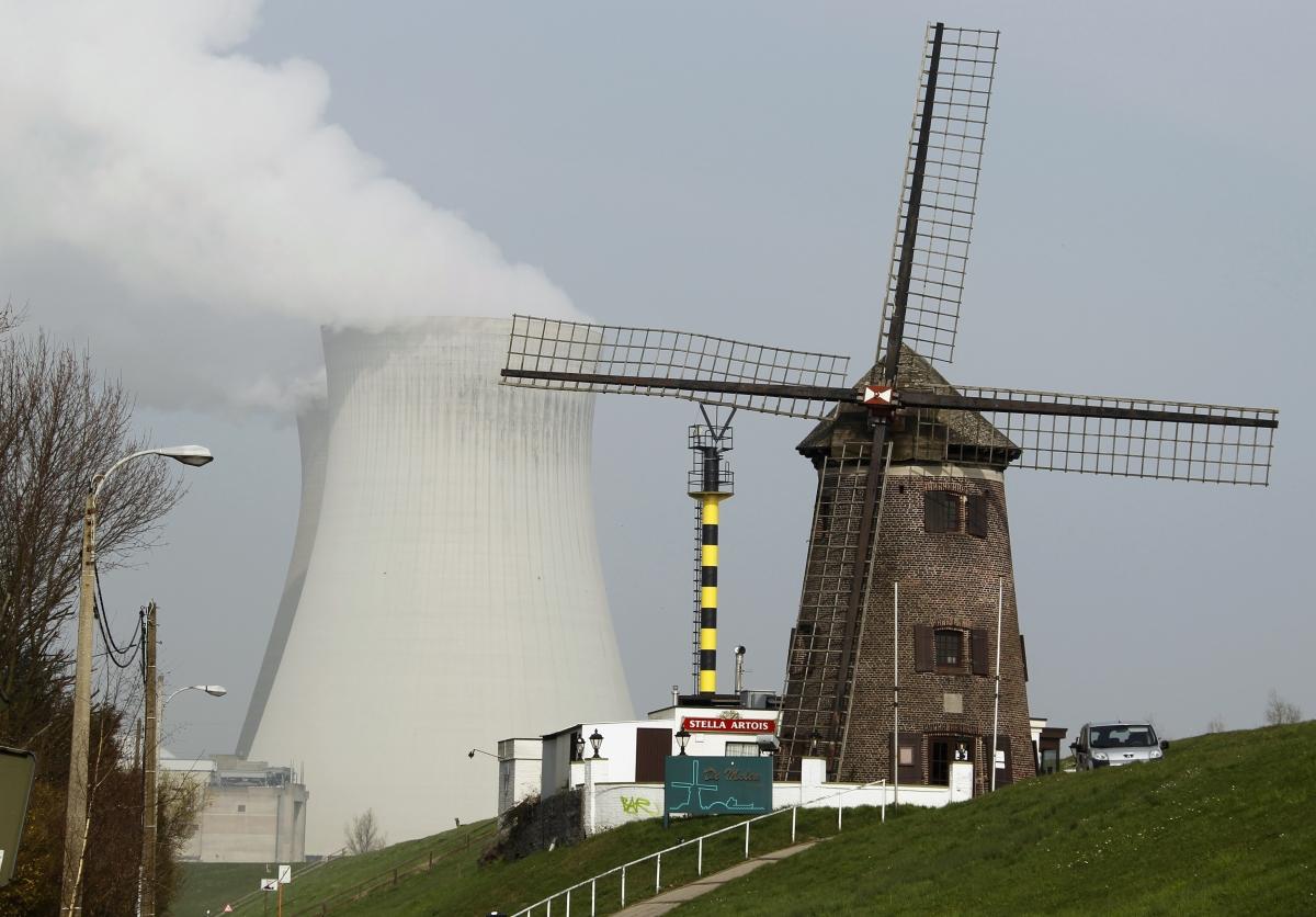 Doel nuclear plant, Belgium