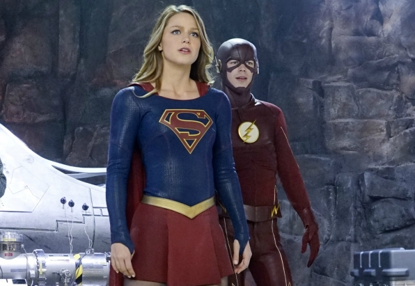 Flash-Supergirl crossover