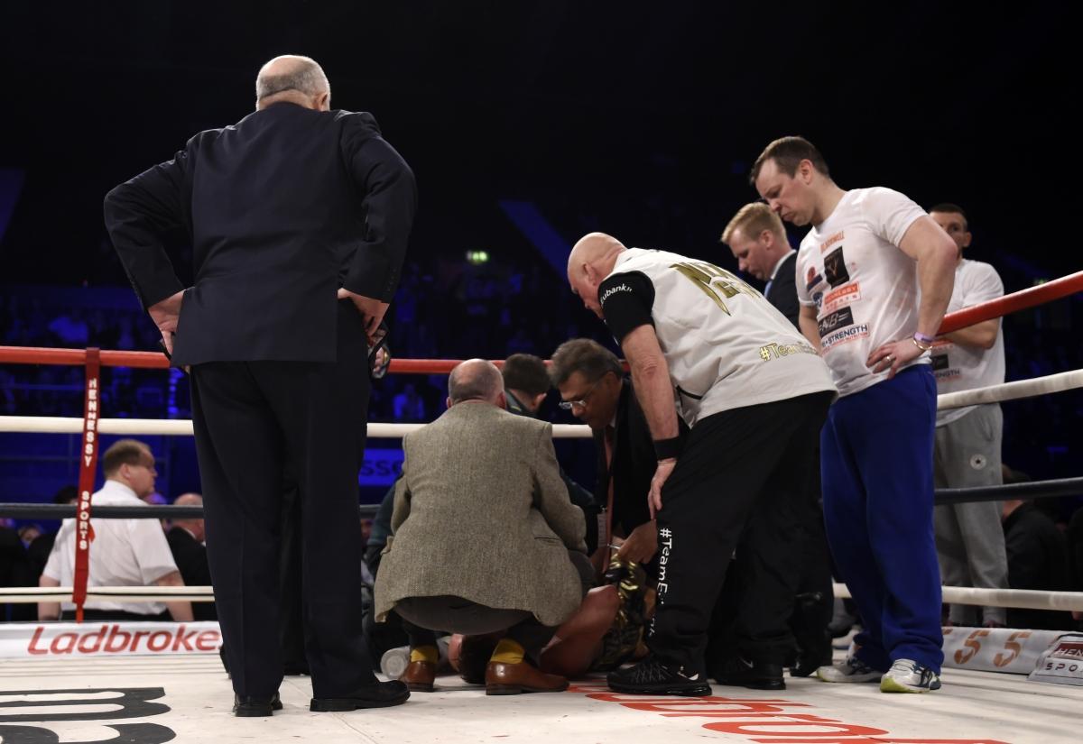 eubank blackwell boxing 2016