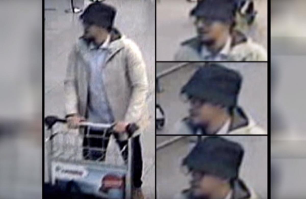 Isis Zaventem CCTV
