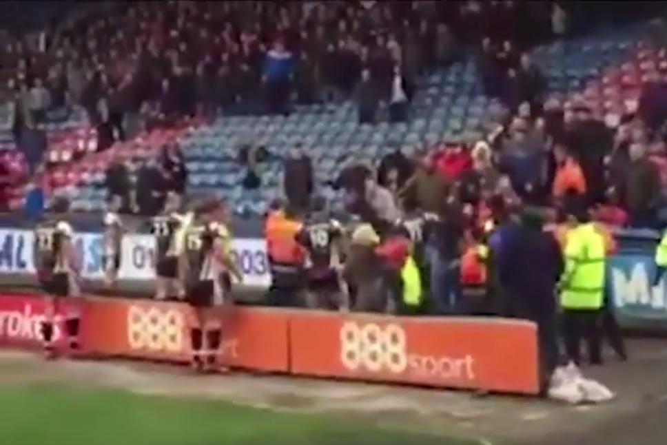 Huddersfield v Salford