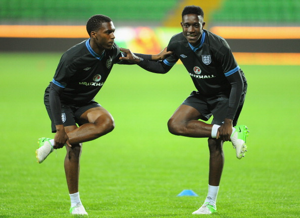 Danny Welbeck and Daniel Sturridge