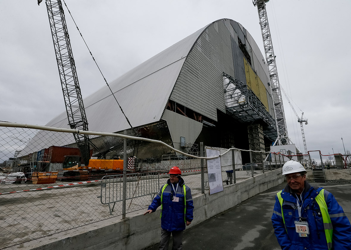 Chernobyl New Safe Confinement