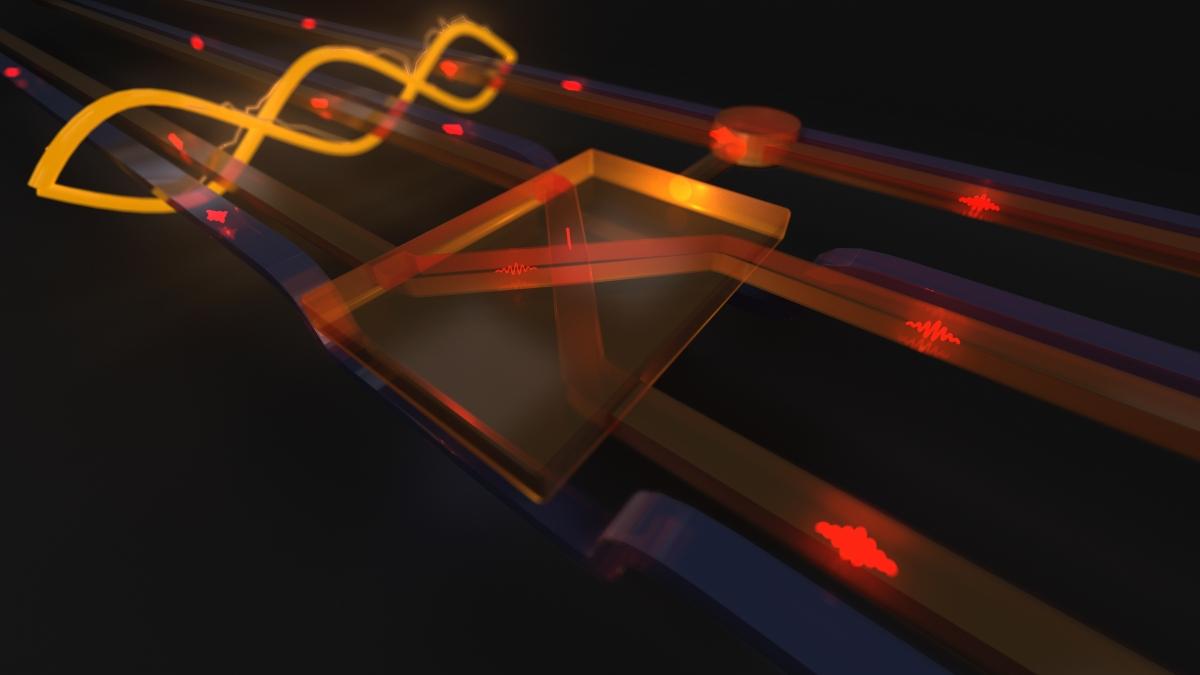 Quantum version of the Fredkin gate