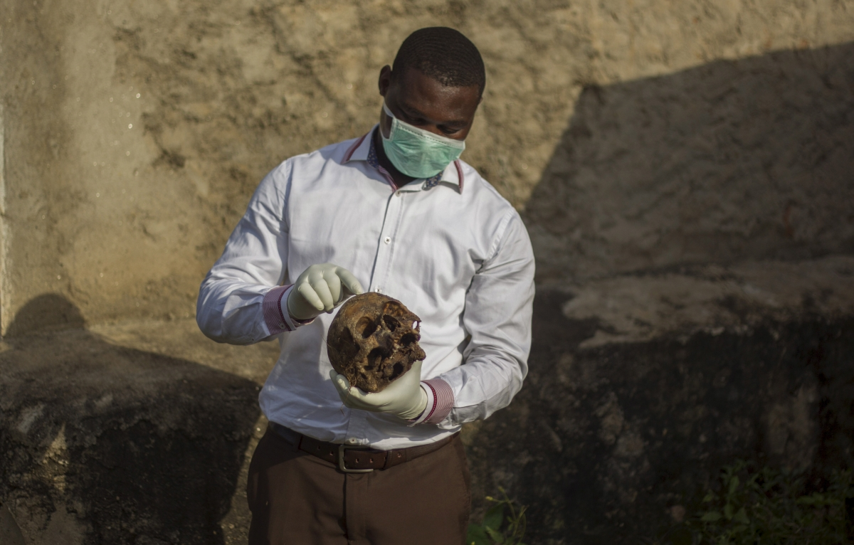 Mass graves in Burundi capital Bujumbura