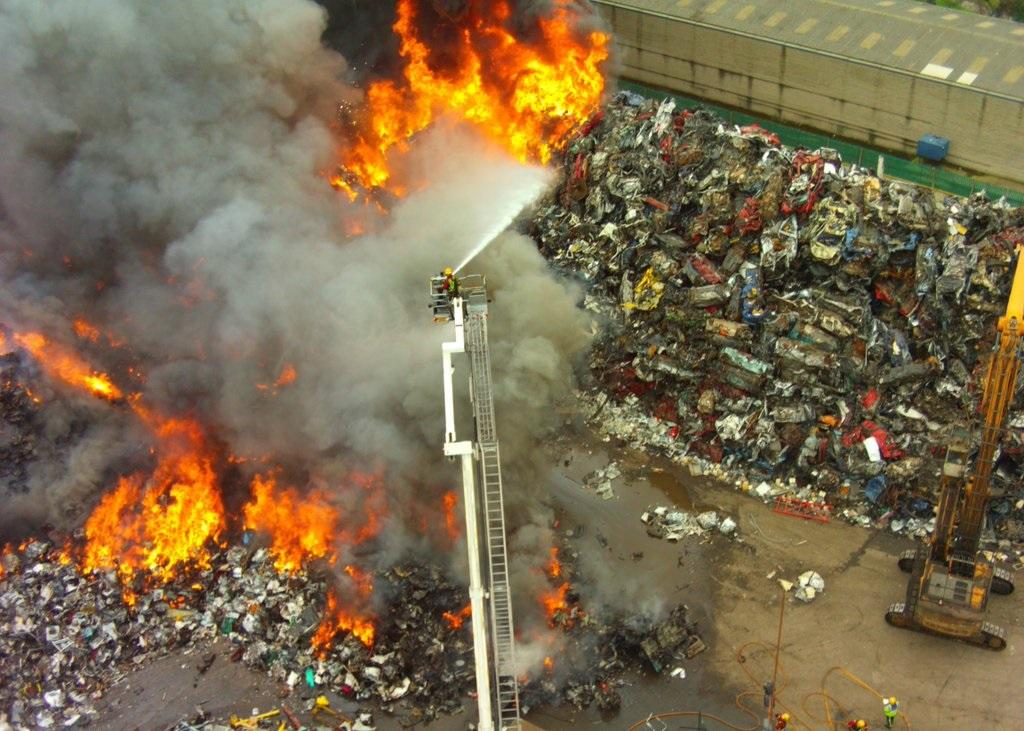 Birmingham fire: Inferno guts scrap metal yard near ...