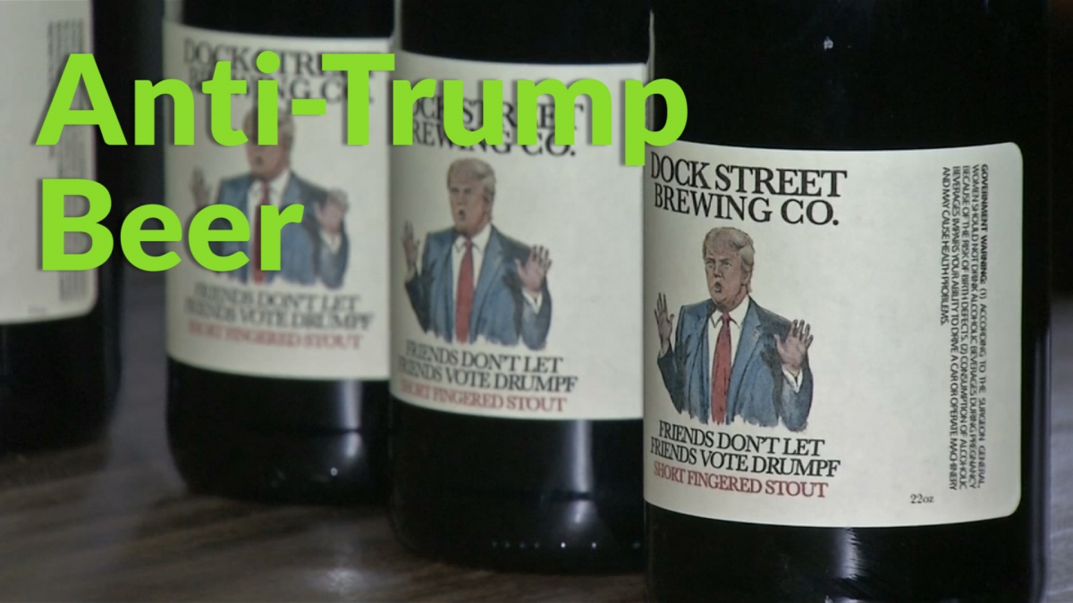 Anti-Donald Trump beer