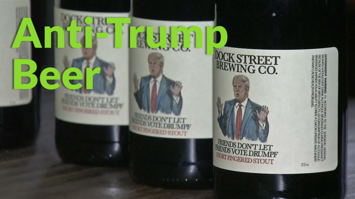 Anti-Donald Trump beer