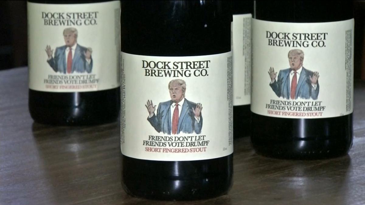 Donald Trump beer