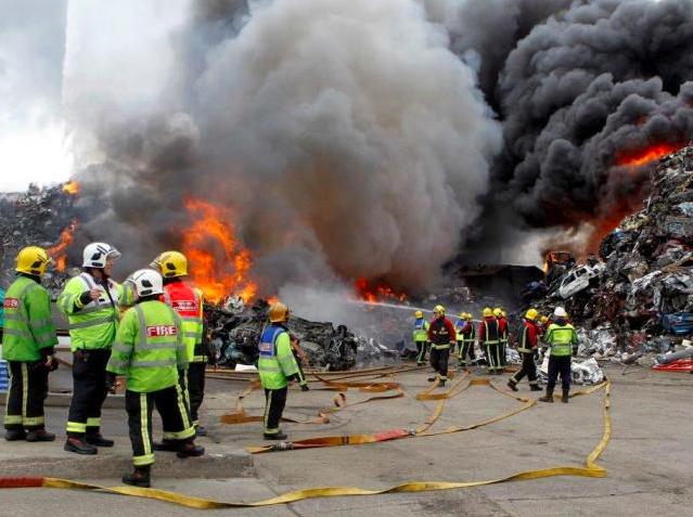 Birmingham Saltley fire