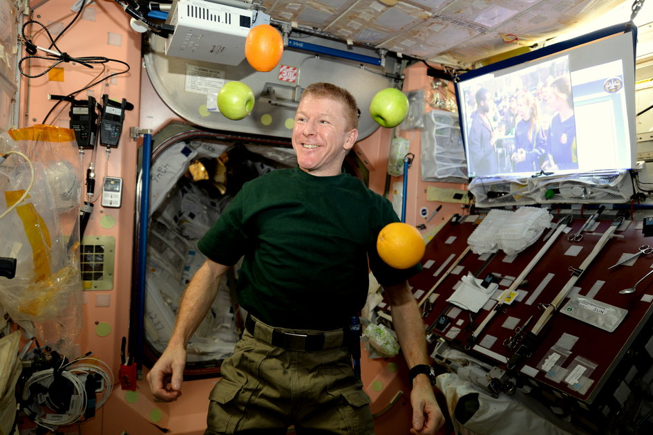 tim peake ISS march 2016