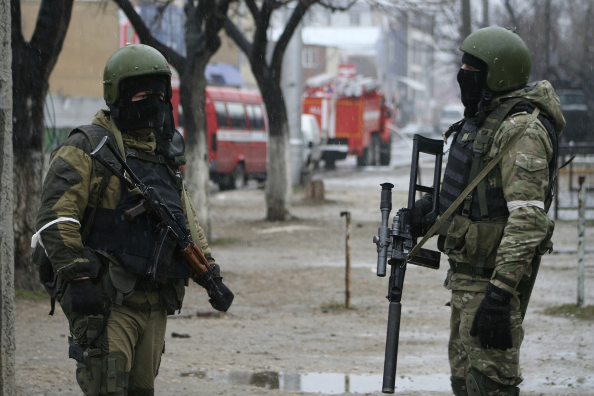 Russian special forces Dagestan
