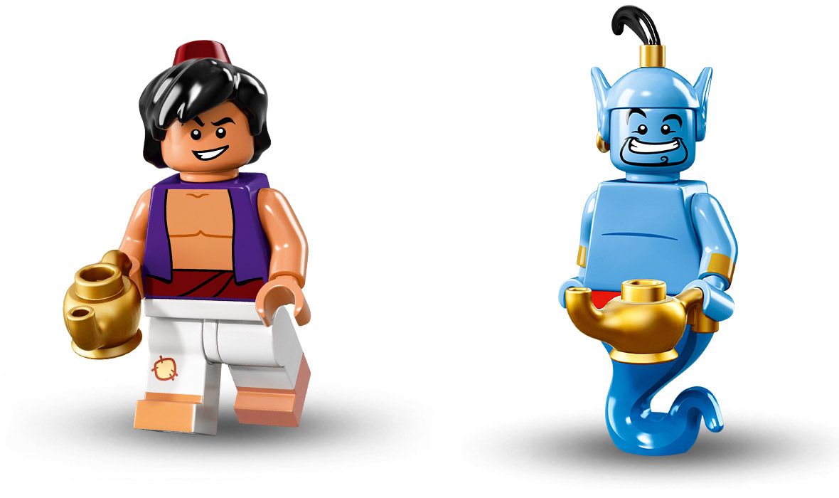 Lego Releases New Minifigures Based On Favourite Disney