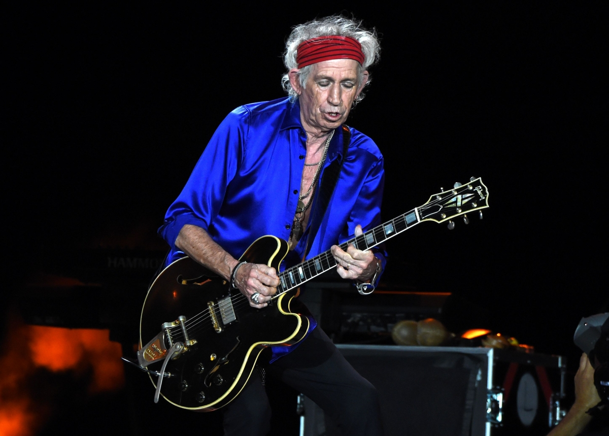 The Rolling Stones' Keith Richards