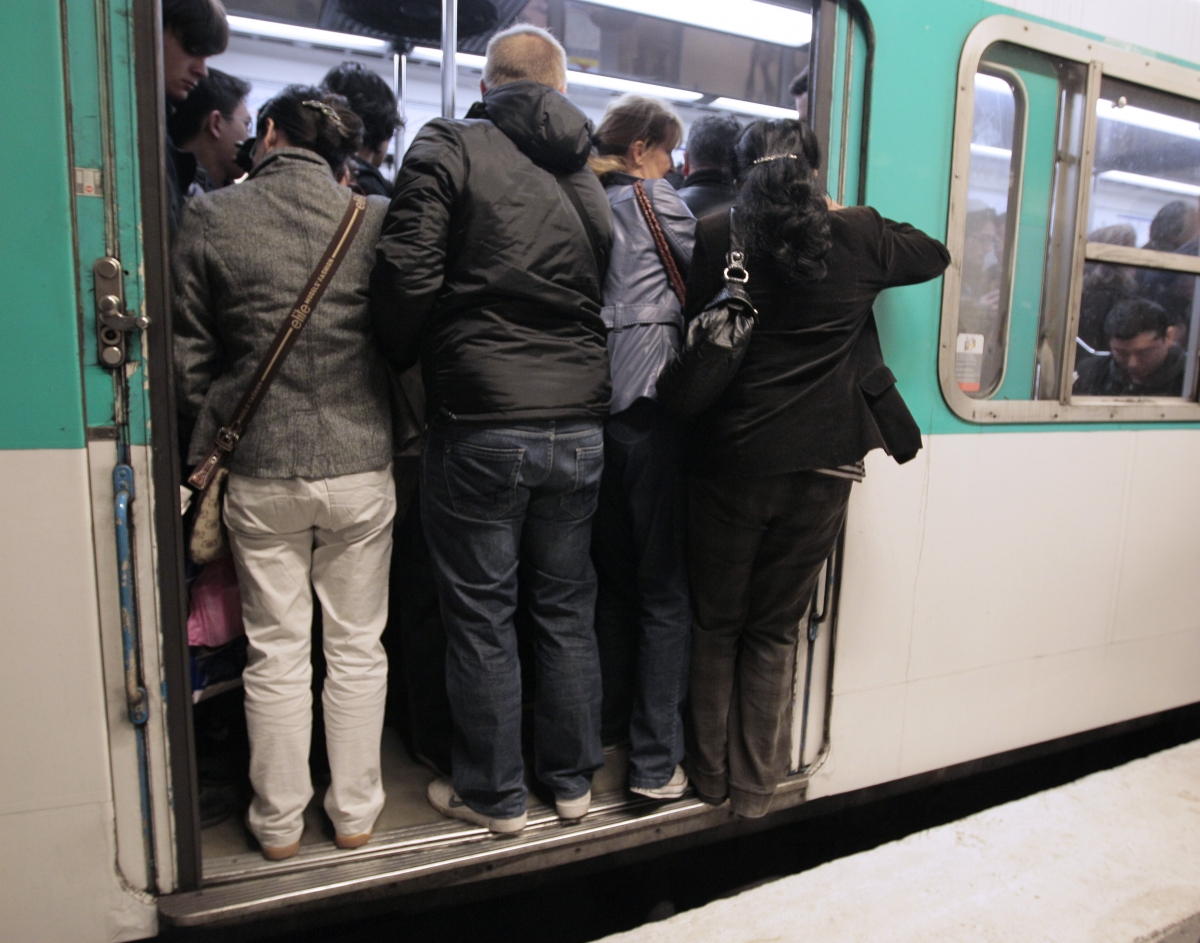 Paris transport and metro strike