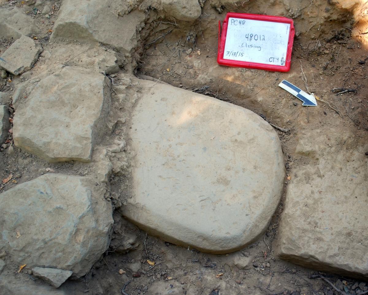 Etruscan stele