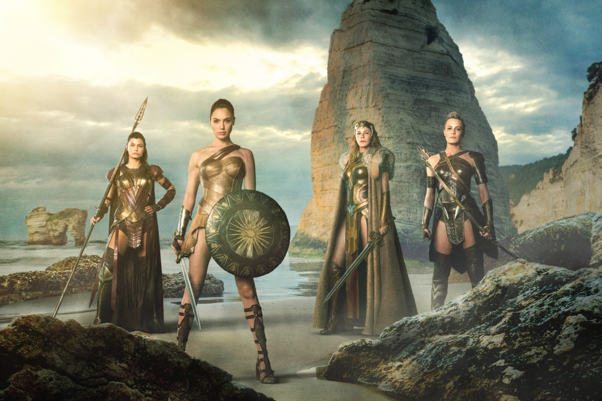 Wonder Woman group shot