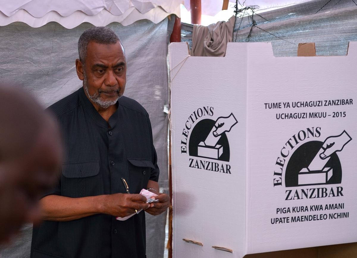 Zanzibar poll in Tanzania elections