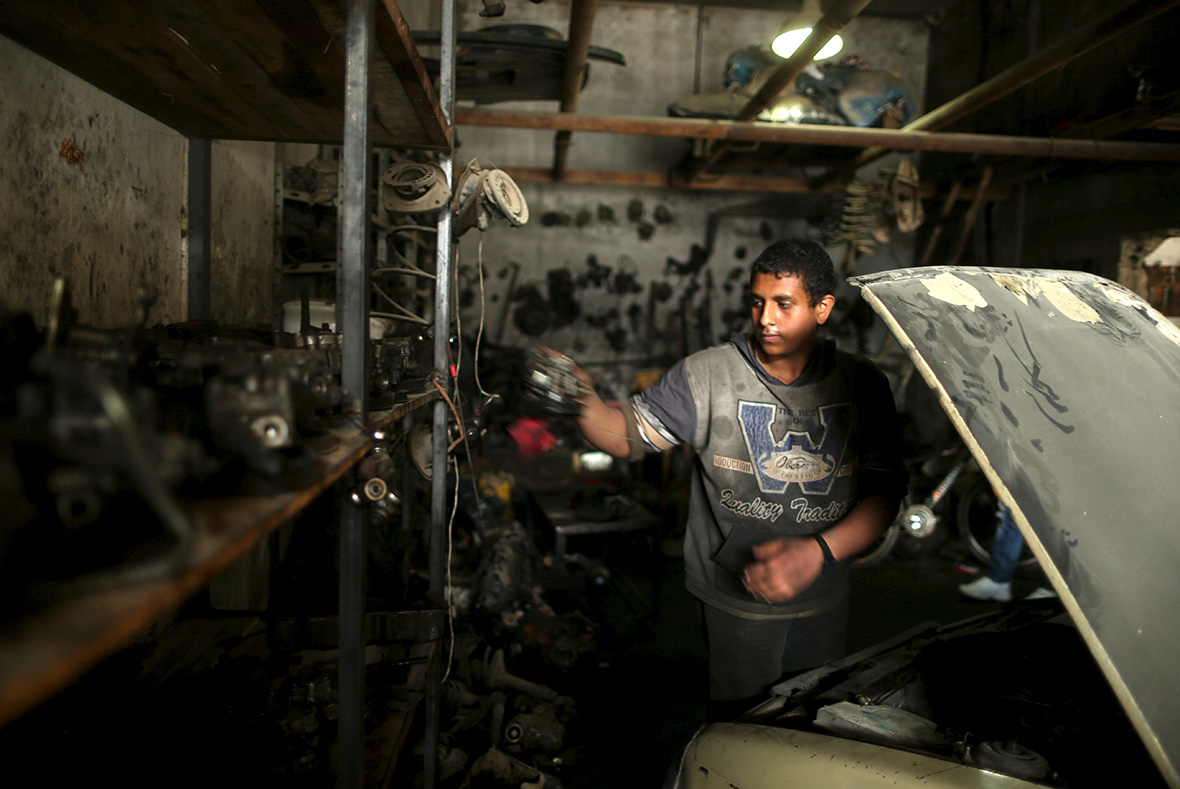 Child labour in Gaza