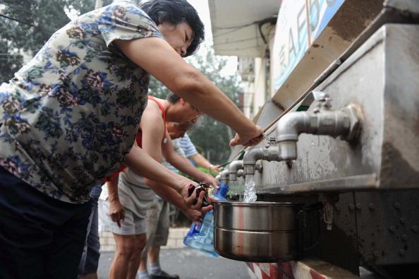 water shortage china