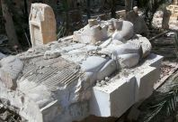 Lion of Al-Lat statue Palmyra