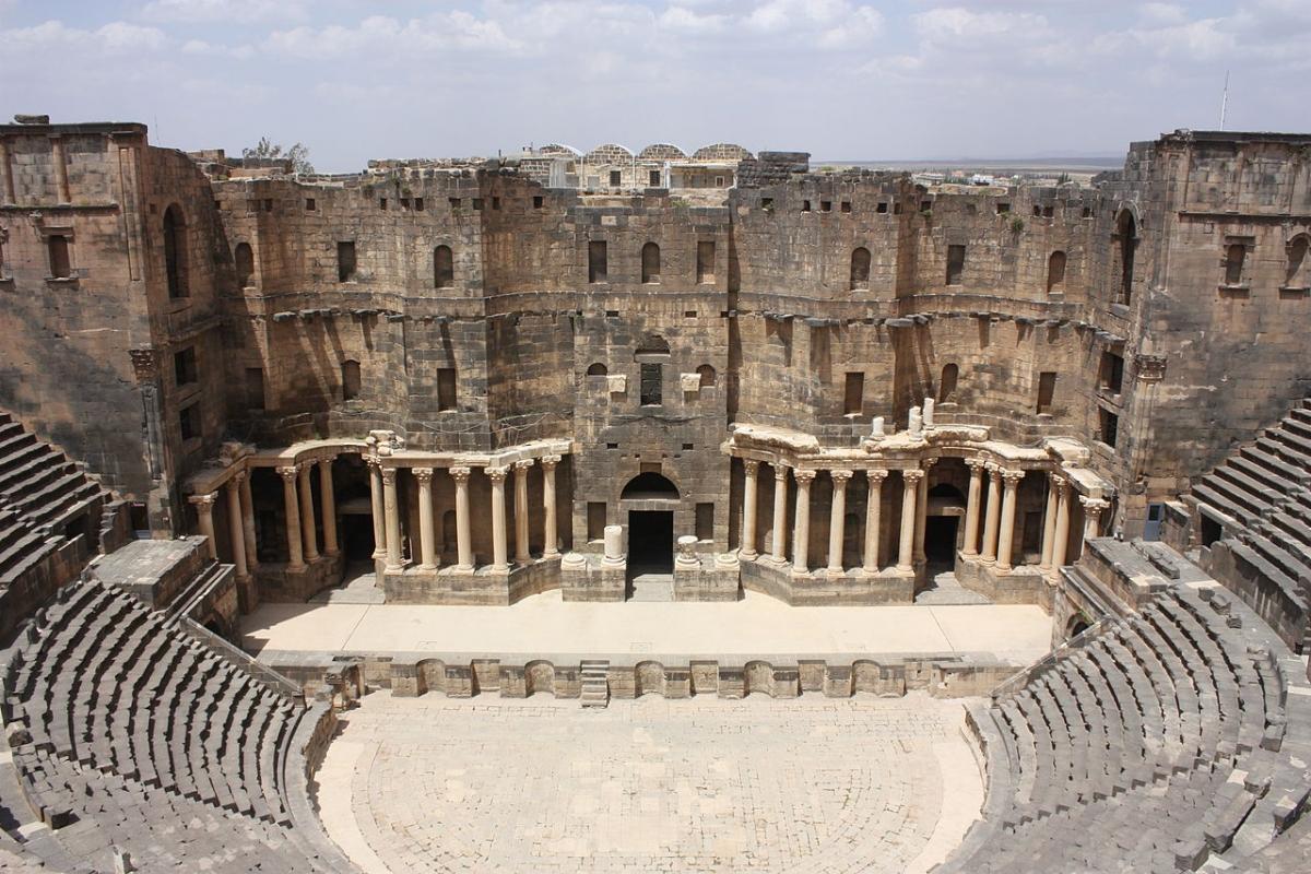 Roman Theatre Bosra Syria