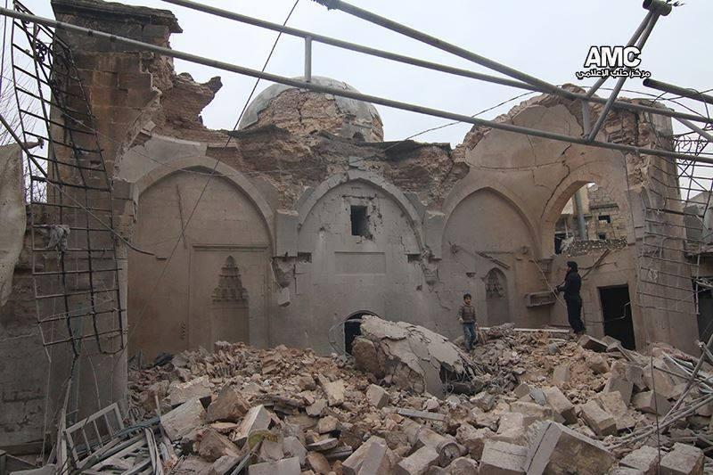 Agha Jaq mosque Aleppo