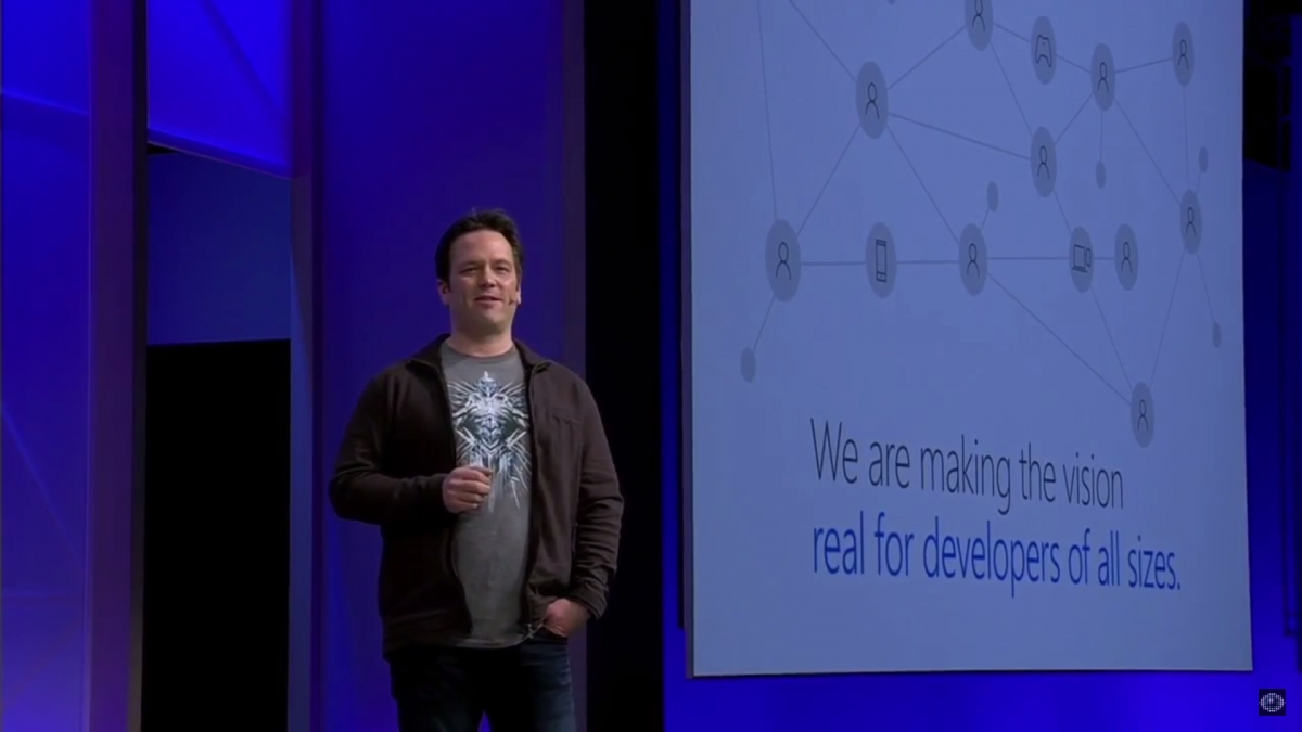 Phil Spencer at Build 2016