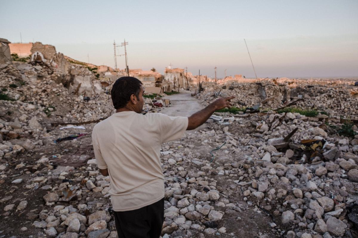 Sinjar rubble