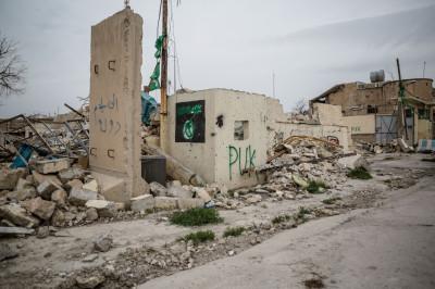 Sinjar PUK rubble