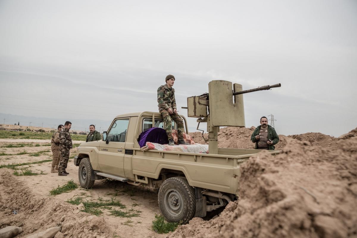 Sinjar front line