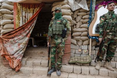 Sinjar front Peshmerga