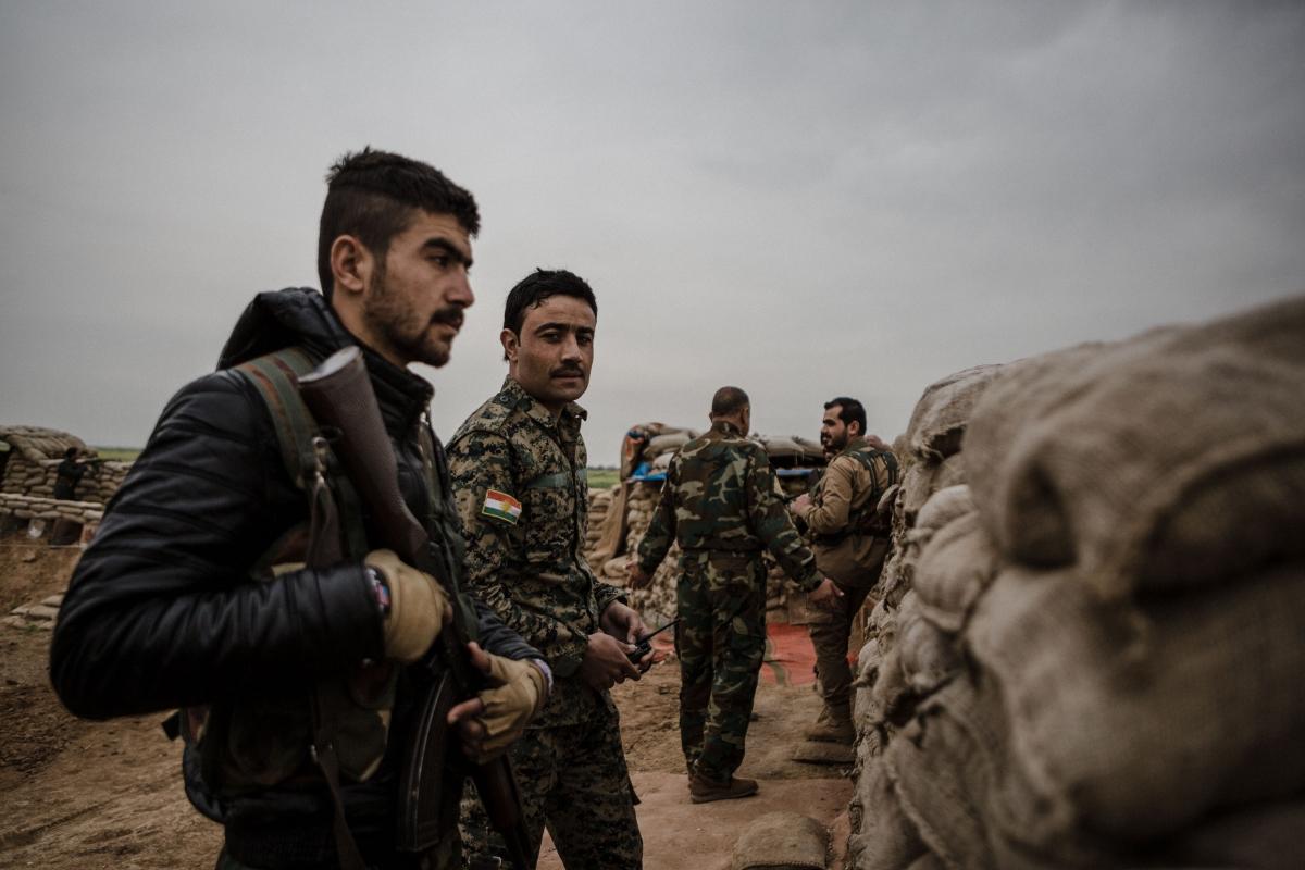 Sinjar Yazidi troops