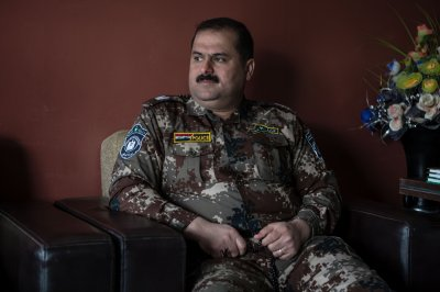 Sinjar Major Ziad Hussien Barja