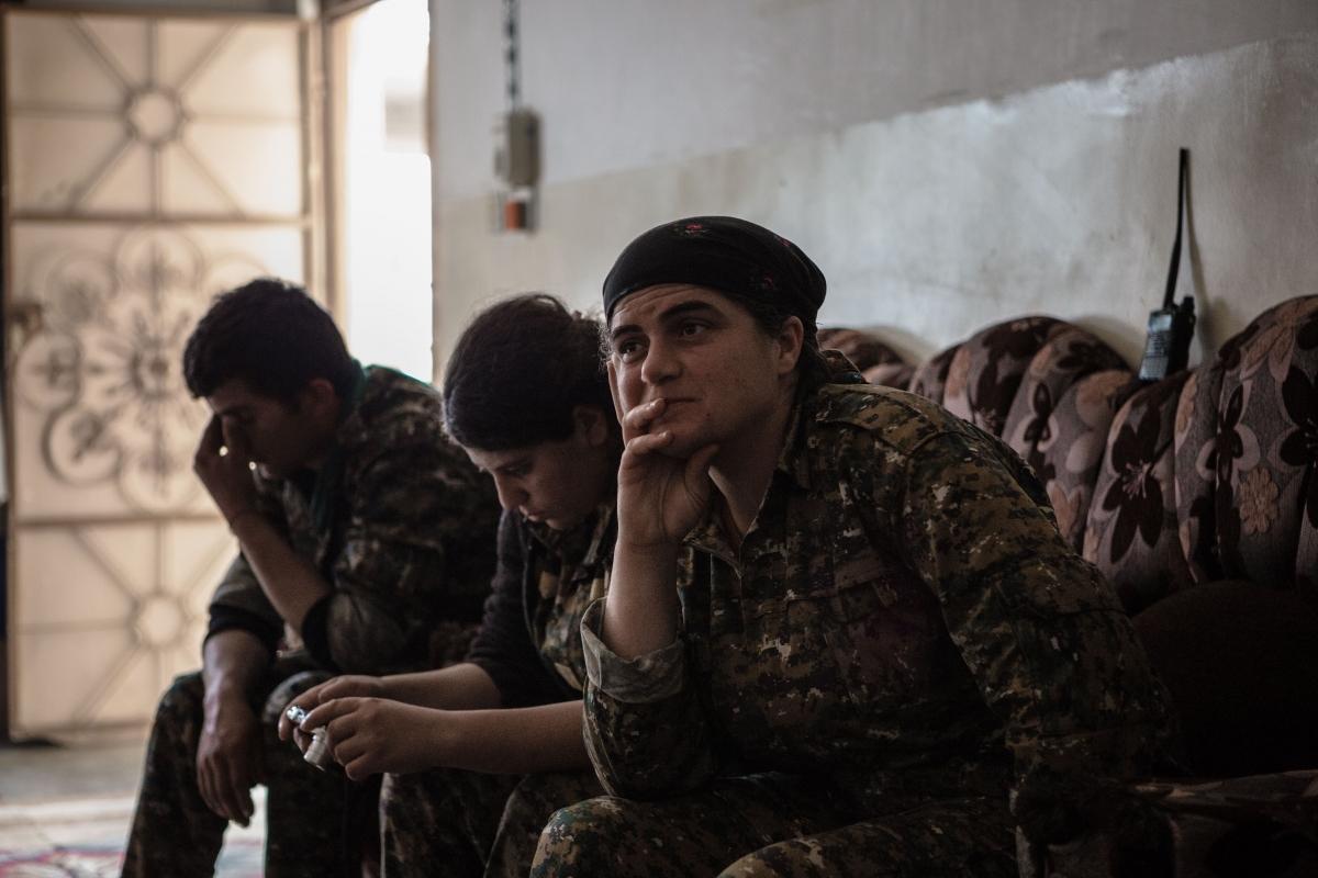 Sinjar female commander
