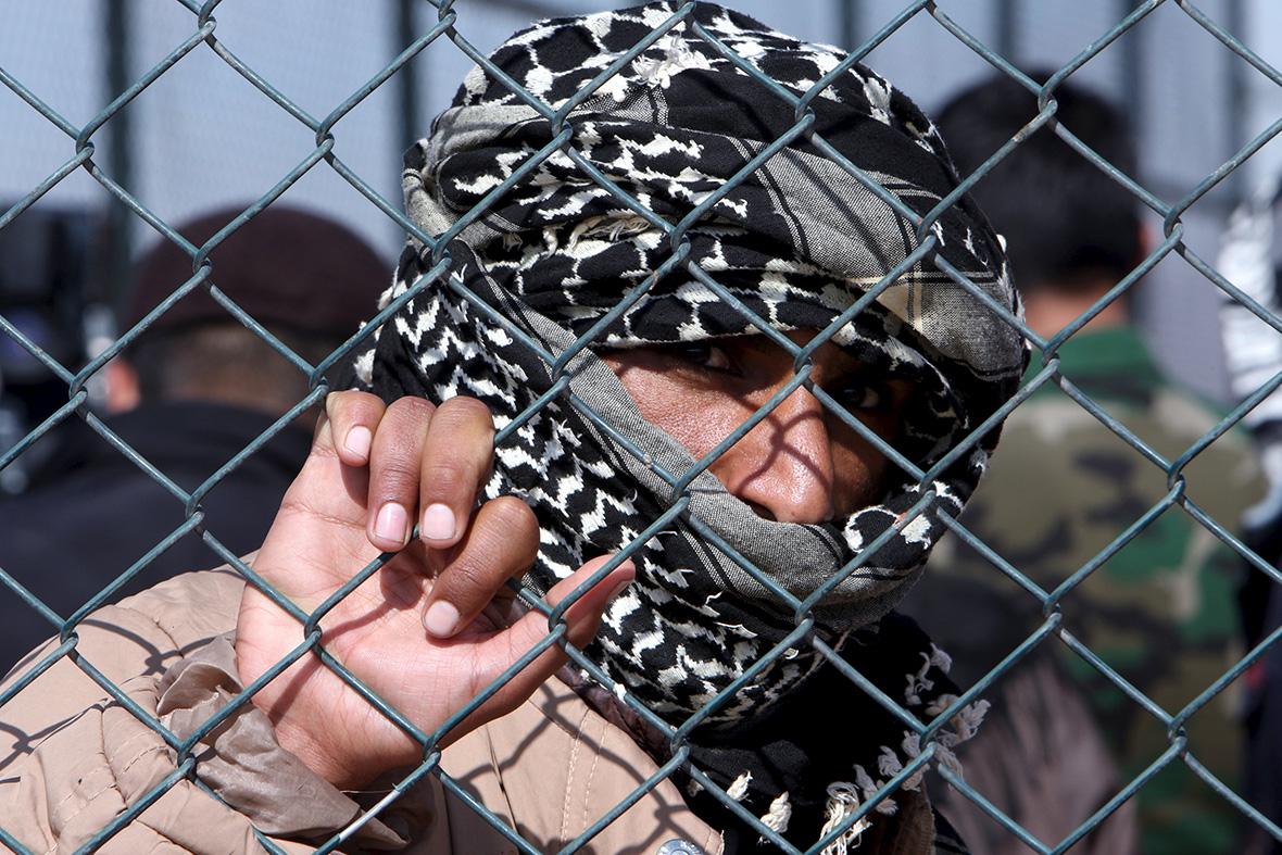 Fleeing Mosul