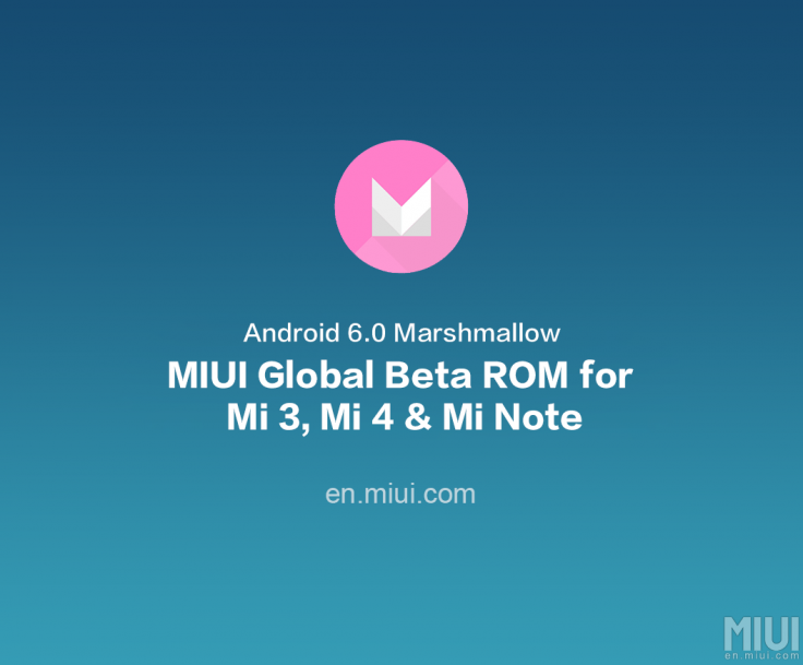 MIUI global beta ROM 6 3 17 featuring Android Marshmallow rolling