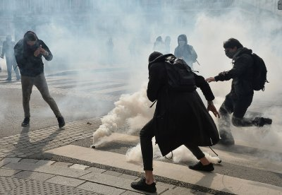France student protests