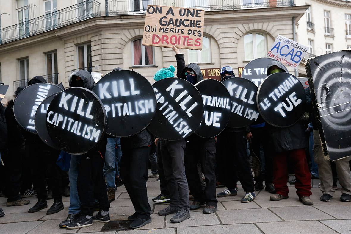 Fransa: İş Reformuna Karşı Grev Ve Protestolarda Kritik Dönemeç