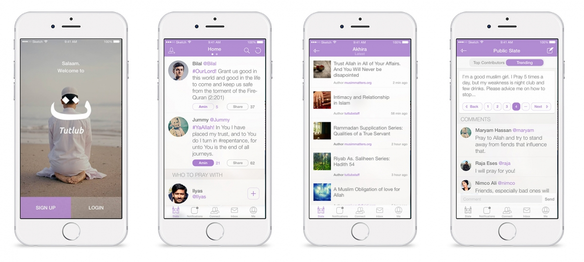 Tutlub social network app