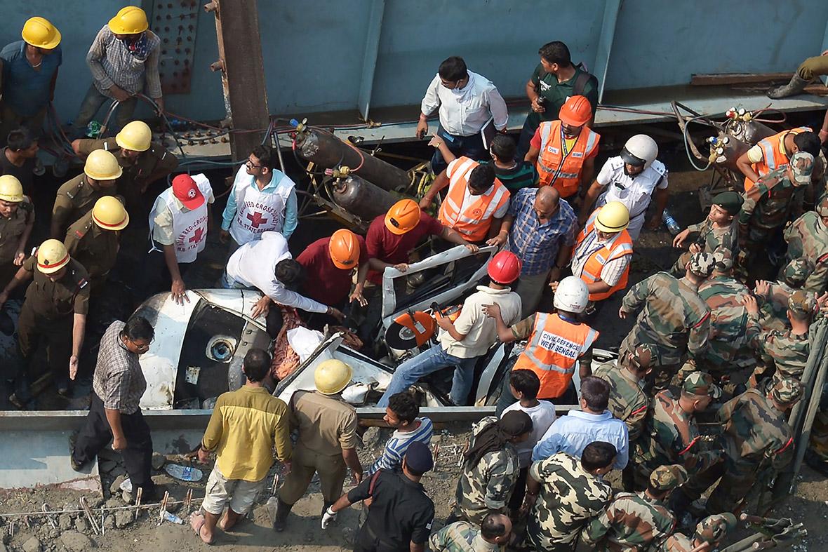 Kolkata overpass collapse