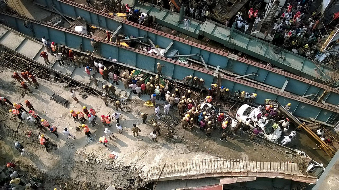 Kolkata overpass collapse