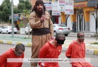 ISIS execution screenshot